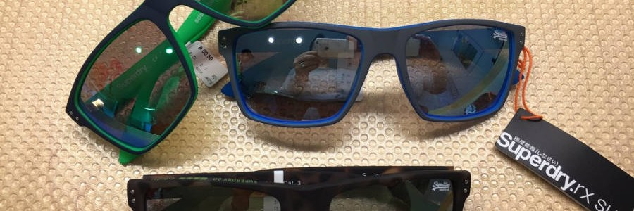 Die neuen Sonnenbrillen von Superdry© sind eingetroffen.
