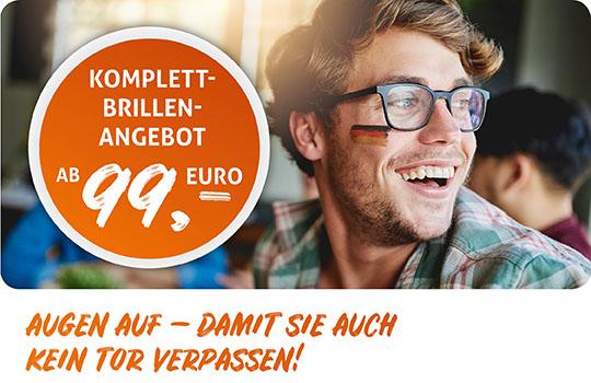 TOLLE KOMPLETTBRILLEN-ANGEBOTE WÄHREND DER WM!