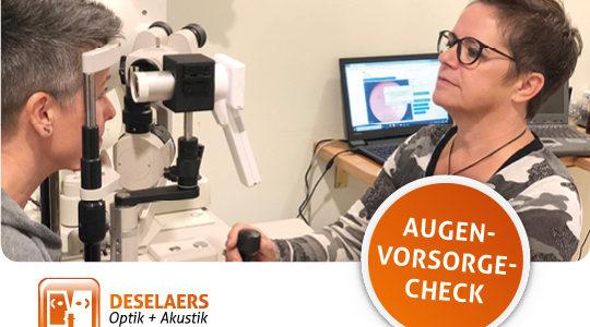 Augen-Vorsorge-Check