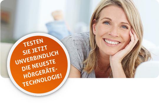 Testen Sie jetzt unverbindlich die neueste Hörgeräte-Technologie!